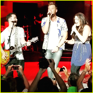 Kevin Jonas Slays On Stage With Lady Antebellum (Video)