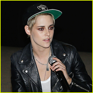 Kristen Stewart Promotes Her New Movie 'Come Swim' in NYC