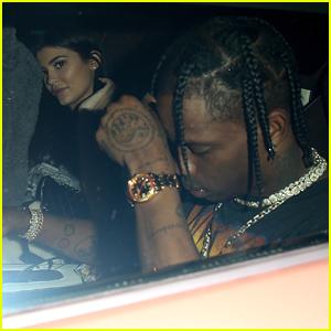 Kylie Jenner & Boyfriend Travis Scott Celebrate Her Birthday at the Movies