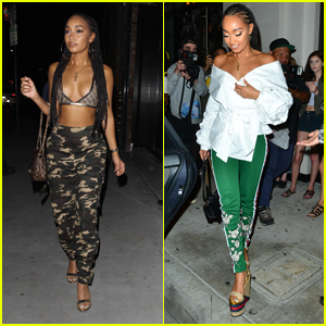 Little Mix's Leigh-Anne Pinnock Brings Her Style A-Game to LA