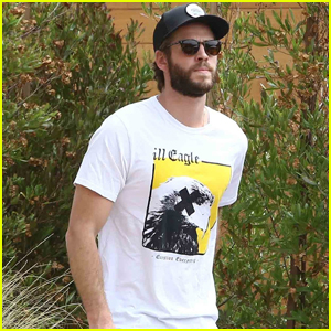 Liam Hemsworth Hangs at Home in Malibu After Wrapping 'Isn't It Romantic'