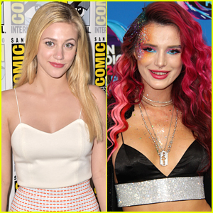Lili Reinhart Admires Bella Thorne For Talking About Her Skin 'All the Time'
