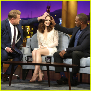 Lily Collins Has Fans Ask Her If They Can Touch Her Eyebrows