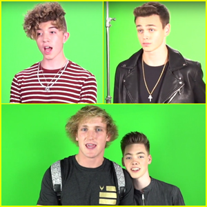 Logan Paul Goes Behind-the-Scenes of Why Don't We's New Music Video!