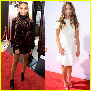 Maddie Ziegler's Sister Mackenzie Supports Her at 'Leap!' Premiere!