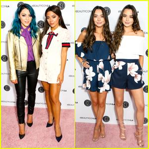 Niki & Gabi and Veronica & Vanessa Merrell Take Over BeautyConLA