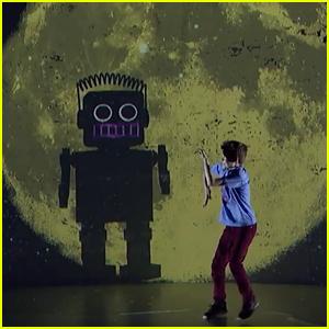Merrick Hanna Dances With a Big Robot On 'America's Got Talent' Quarterfinals #2 (Video)