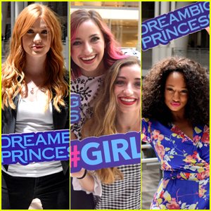 Katherine McNamara, Monique Coleman and Brooklyn & Bailey All Celebrate Dream Big Princess Campaign