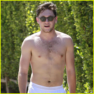 Niall Horan Gets Sweaty During Shirtless Hike!