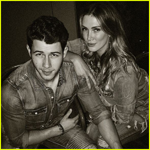 Nick Jonas Met Up With Ex Delta Goodrem & They Were Totally Matching!