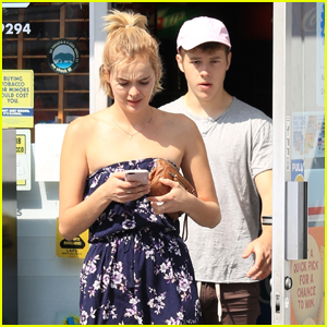 Nolan Gould Spends Sunday With Rumored Girlfriend Hannah Glasby