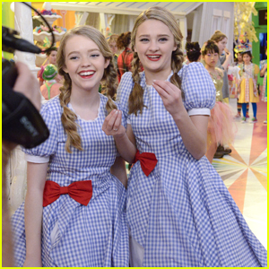 Lizzy Greene & Jade Pettyjohn Laughed So Much During This One Scene in 'Wizard of Quads'