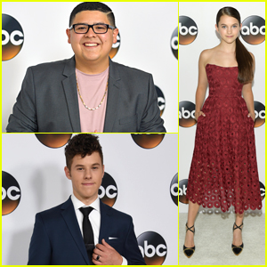 Modern Family's Rico Rodriguez & Nolan Gould Dish On Season 9 During ABC's Annual TCA Party