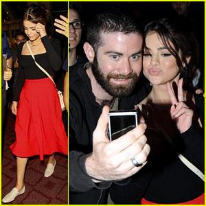 Selena Gomez's Saturday Night Look Is So Perfect!