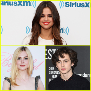 Selena Gomez Gives a Shoutout to Her Future Co-Stars Elle Fanning & Timoth�e Chalamet!