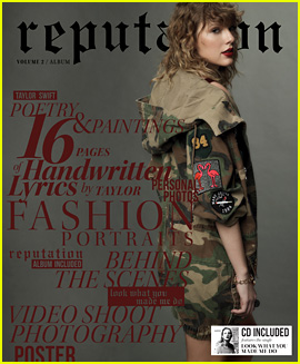 Taylor Swift Reveals More 'Reputation' Album Details: Song Count & Magazine Covers!