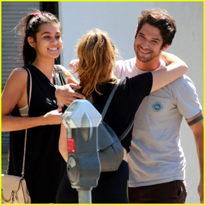 Tyler Posey Brought Rumored Girlfriend Sophia Taylor Ali to the MTV VMAs!