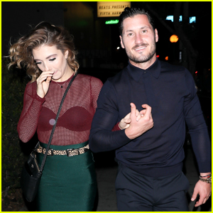 Val Chmerkovskiy & Jenna Johnson Celebrate Fifth Harmony's New Album with Normani Kordei