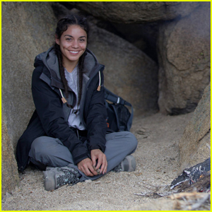 Vanessa Hudgens Braves Brutal Conditions on 'Running Wild'
