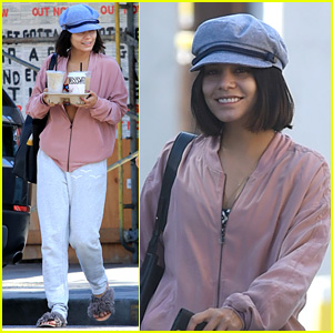 Vanessa Hudgens Wears a Colorful Crop Top to Pilates - See the Pics!