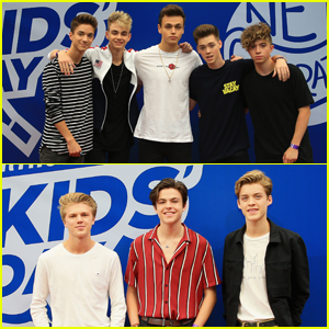 Why Don't We & New Hope Club Take the Stage at Arthur Ashe Kids' Day!