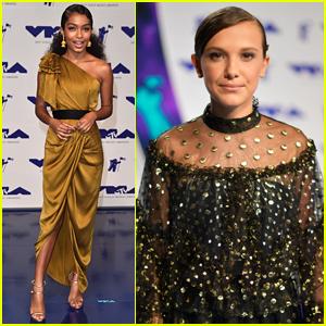 Yara Shahidi is a Golden Goddess at MTV VMAs 2017