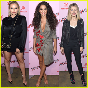 Alli Simpson & Madison Pettis Step Out For Refinery29's 29 Rooms NYFW Event