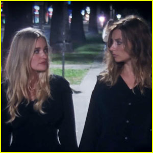 Aly & AJ Grit Their Teeth in Vampire-Themed 'Take Me' Music Video - Watch Now!
