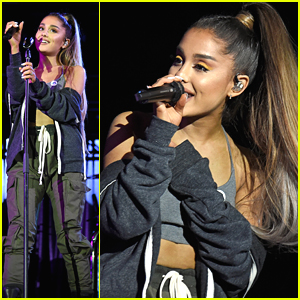 Ariana Grande Joins Others at Concert for Charlottesville - See The Pics!