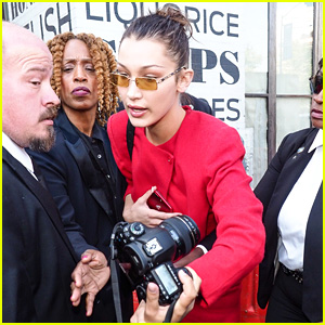 Bella Hadid Reprimands Security For Getting Rough With Female Photographer