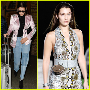 Bella Hadid Closes Out Milan Fashion Week Before Heading to Paris