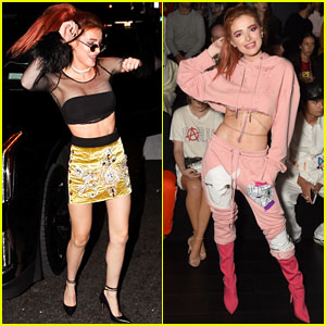Bella Thorne Dances It Up During NYFW!