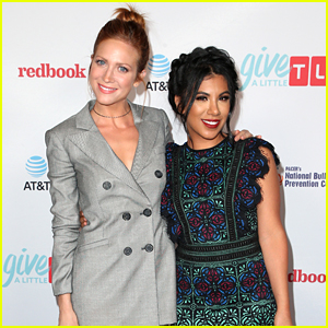 Brittany Snow Gets Support From 'Pitch Perfect' Co-star Chrissie Fit at Give a Little Awards