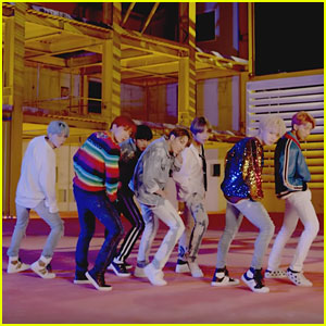 K-Pop Group BTS Tease Their New Single 'DNA' With Fierce Choreography - Watch Now!