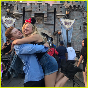 Peyton List & Cameron Monaghan Hold Hands While Out at Disneyland - Pics!