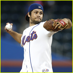 Dylan O'Brien Fulfills A Lifelong Dream & Throws Out First Pitch at a Mets Game