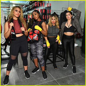 Fifth Harmony Get Their Fitness On During NYFW With Reebok