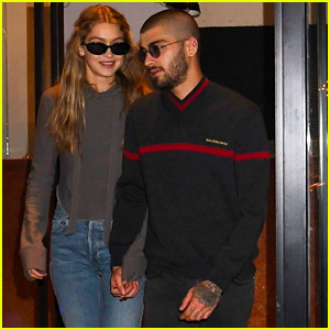 Gigi Hadid & Zayn Malik Show Some Sweet PDA on Their Date