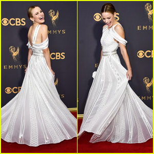 Halston Sage Had Her Cinderella Moment at Emmy Awards 2017