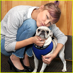 Grace VanderWaal Had a Full-Blown Party For Her Dog's Birthday