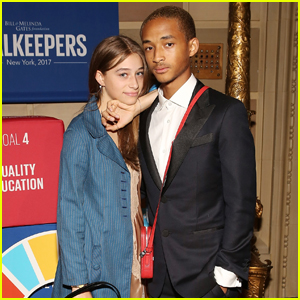 Jaden Smith & Odessa Adlon Attend UN Global Goals Event