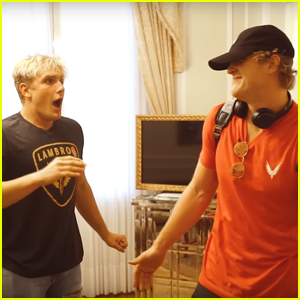 Jake Paul Got Totally Surprised By His Brother Logan!