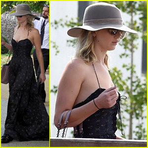 Jennifer Lawrence Jets to Venice with Her Boyfriend!