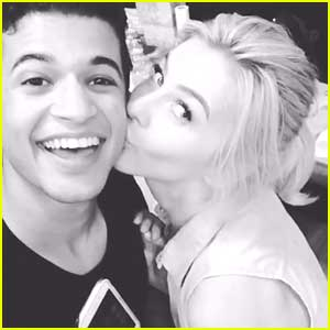 Jordan Fisher Is Kind of Relieved That Julianne Hough Won't Be Judging Him on DWTS (Exclusive)
