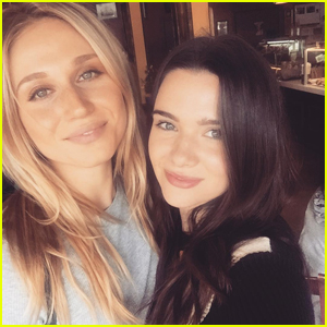 'Faking It's Katie Stevens & Rita Volk Have Cute Reunion Over the Weekend