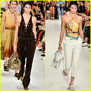 Kendall Jenner Hits the Runway at Tod's Milan Fashion Week Show