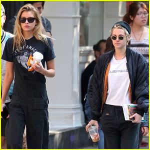 Kristen Stewart Spends Sunday with Girlfriend Stella Maxwell
