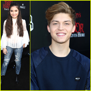 Landry Bender & Ricky Garcia Get Their Spook on at Queen Mary's Dark Harbor Event