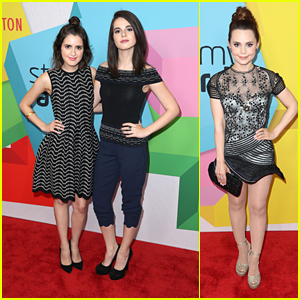 Laura & Vanessa Marano Stylishly Step Out For Streamy Awards 2017 with Rosanna Pansino