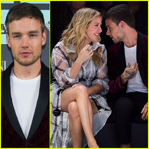 Liam Payne Sits Next to Ellie Goulding at Armani Show!